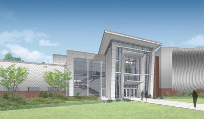 Architect's rendering of new NE State Technical Education Complex