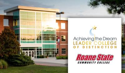 Roane State honored as Achieving the Dream Leader College of Distinction