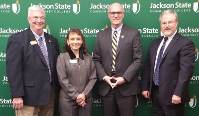 Dr. Larry Bailey, Dr. Allana Hamilton, Dr. Bob Jackson and Dr. Mark Arrant