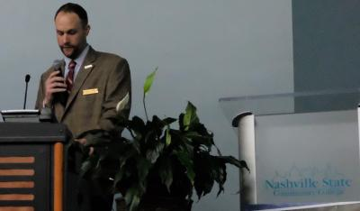 Nathan Garrett, assistant vice chancellor for economic & community development