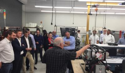 German & American delegation visits TCAT Knoxville
