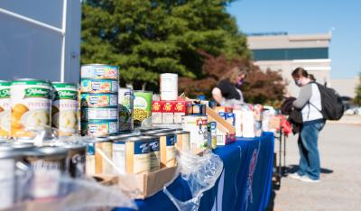 2020 Food Drive Challenge collects nearly 76,000 food items