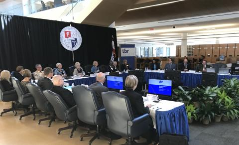 Board of Regents meet at Southwest Tennessee Community College