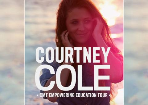 Courtney Cole on the CMT Tour