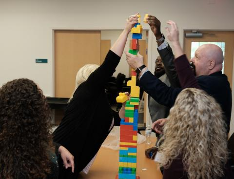 LEGO team building at TNTrained Workforce Development Conference