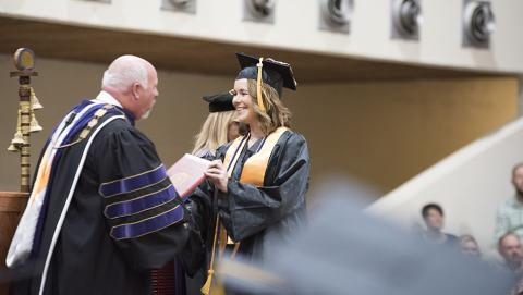 Roane State Community College launched Commencement season May 3