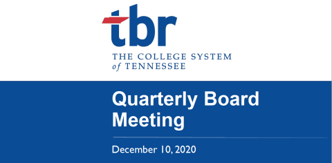 Tennessee Board of Regents quarterly meeting