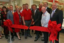 College of Applied Technology Smyrna ribbon cutting