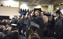 Roane State students at their Commencement Friday