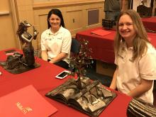 TCAT students display welding art at SKILLS state competition