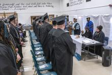 Nashville State President Shanna Jackson addresses graduates