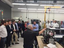 German & American delegation visits TCAT Knoxville