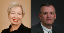 Dr. Carol Puryear and Dr. Jeff Sisk
