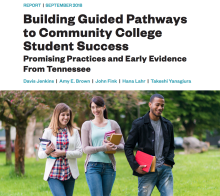 Community College Research Center report